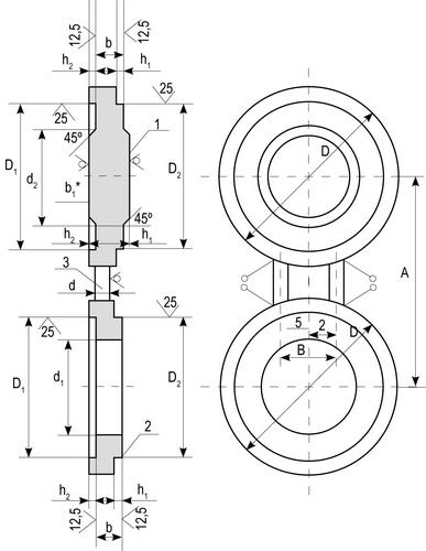 Заглушки поворотные по АТК 26-18-5-93