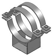Опоры конструкции стальных трубопроводов по Серии 5.900-7