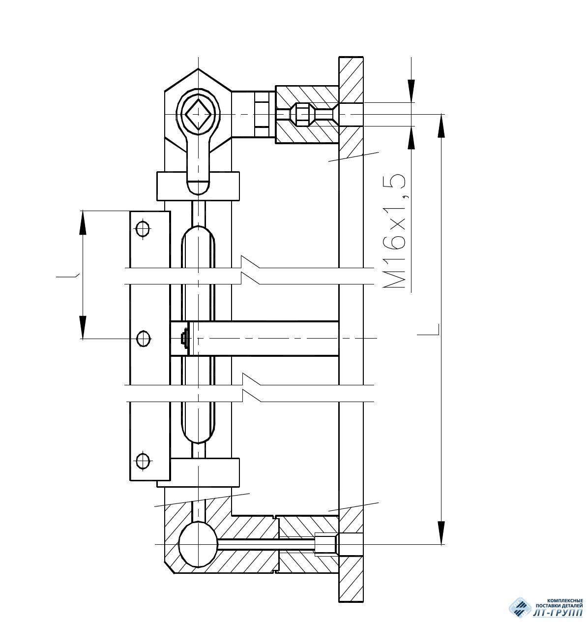 Колонки указательные бронзовые с цилиндрическим стеклом и двумя кранами по ОСТ 5Р.5419-79
